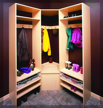 Custom Locker Closets
