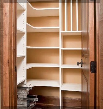 Kitchen Pantry Shelving Systems and Custom Pantry Storage Organizer ...